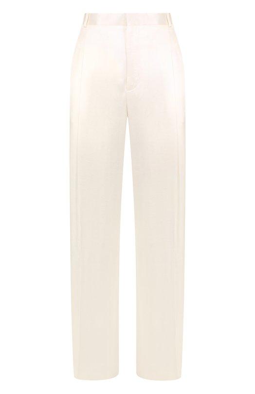 Купить Однотонные брюки из вискозы со стрелками Givenchy, BW501Y104J, Италия, Белый, Вискоза: 100%;