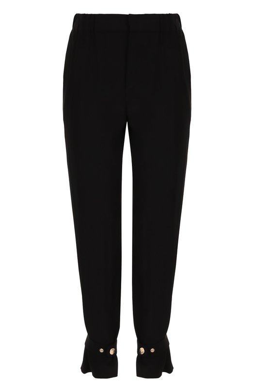 Укороченные шелковые брюки  Roberto Cavalli