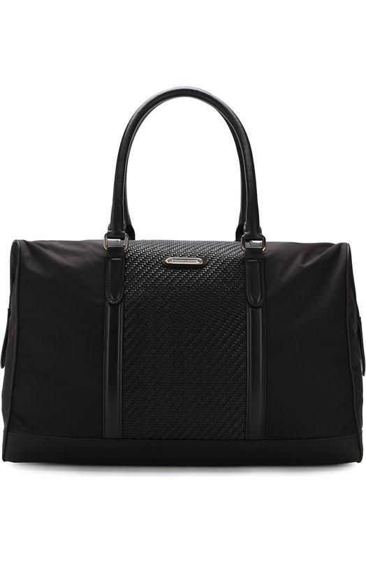 Купить Текстильная дорожная сумка Z Zegna, C1345P-DPT, Италия, Черный, Текстиль: 100%;