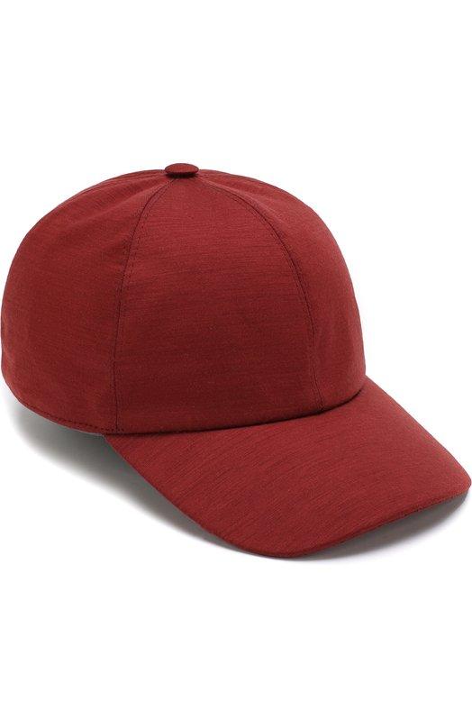 Купить Шерстяная бейсболка Z Zegna, Z3I60/B2A, Италия, Бордовый, Шерсть: 100%; Подкладка-шерсть: 100%;