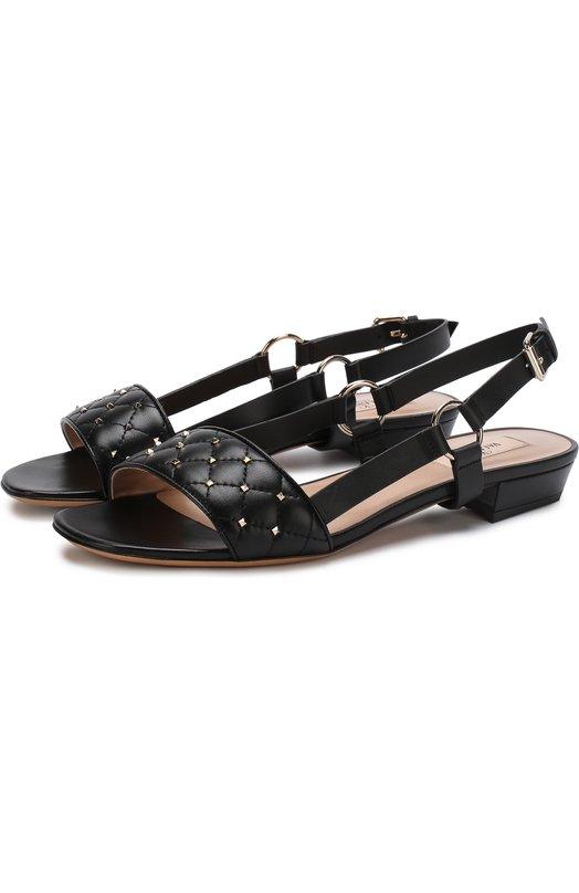 Кожаные сандалии Valentino Garavani Rockstud Spike Valentino