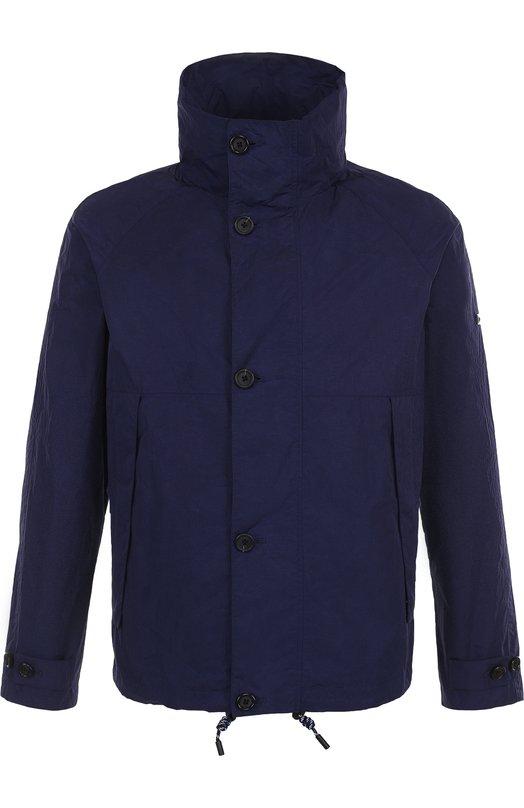 Купить Куртка на молнии с воротником-стойкой Z Zegna, VP059/ZZ047, Китай, Синий, Полиамид: 100%; Подкладка-полиэстер: 100%;