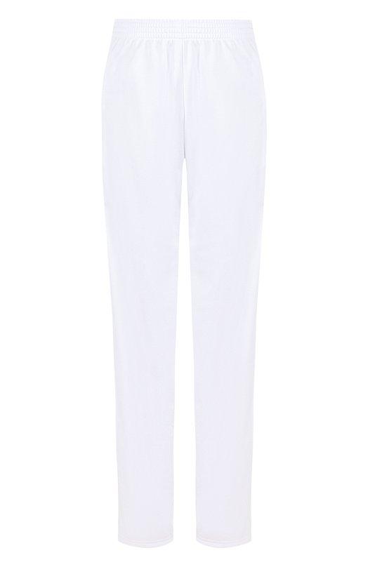 Купить Однотонные джоггеры с эластичным поясом и лампасами Givenchy, BW501K300P, Португалия, Белый, Полиэстер: 100%;