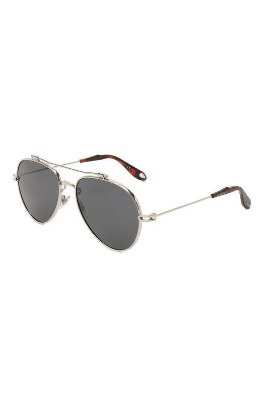 Купить Солнцезащитные очки Givenchy, 7057 NUDE 010, Италия, Серебряный