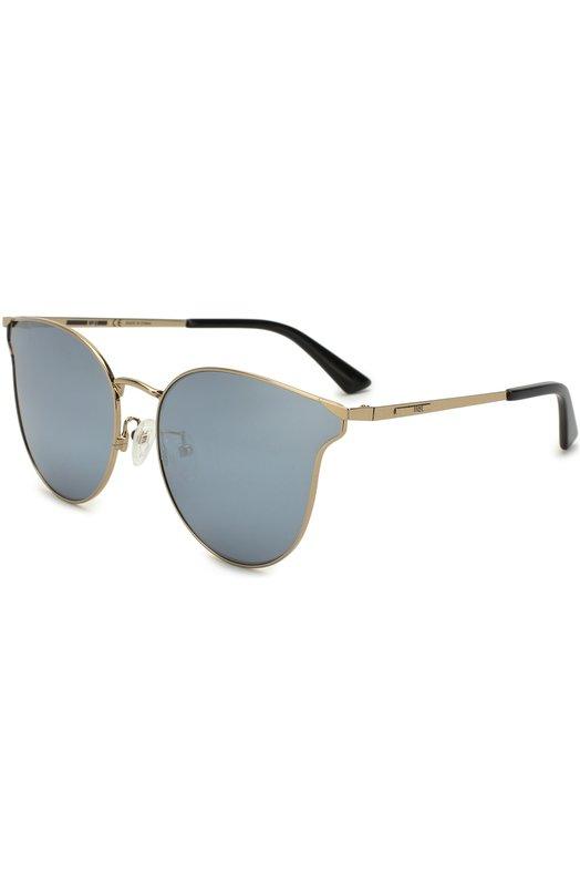Купить Солнцезащитные очки Alexander McQueen, MQ0105SK 005, Китай, Серый
