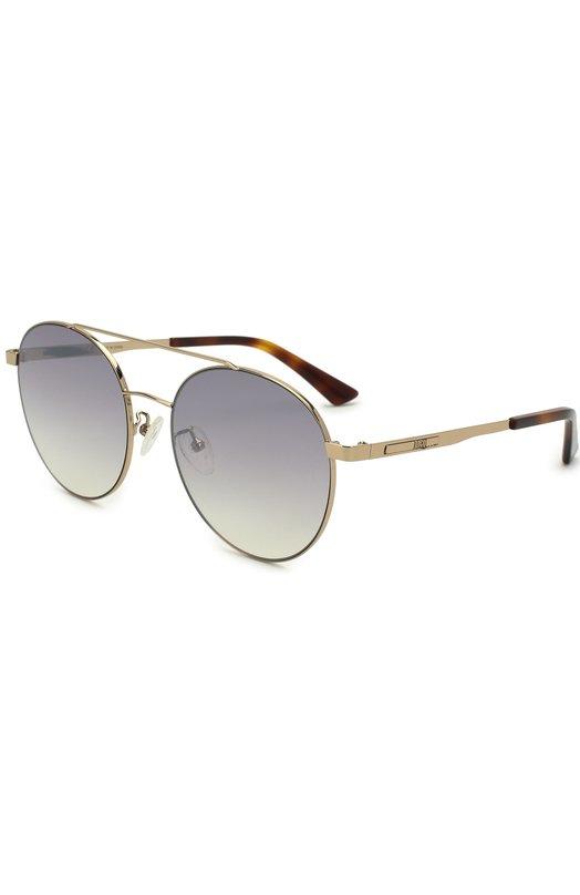 Купить Солнцезащитные очки Alexander McQueen, MQ0107SK 001, Китай, Золотой