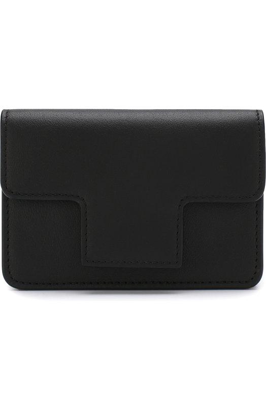 Купить Кожаный футляр для кредитных карт с клапаном Tom Ford, S0248T-CE7, Италия, Черный, Кожа натуральная: 100%;
