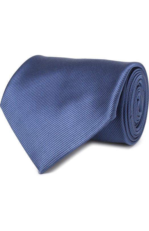 Купить Шелковый галстук Tom Ford, 3TF08/XTF, Италия, Голубой, Шелк: 100%;