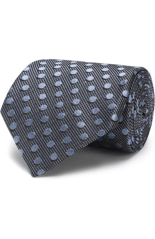 Купить Шелковый галстук Tom Ford, 3TF48/XTF, Италия, Голубой, Шелк: 100%;