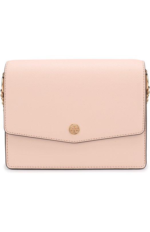 Купить Сумка Robinson Tory Burch, 46333, Китай, Розовый, Кожа натуральная: 100%;