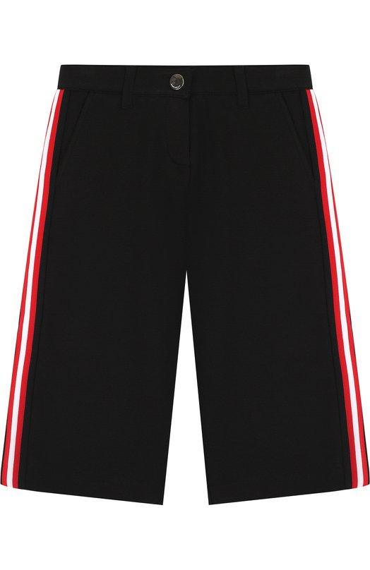 Укороченные брюки с лампасами  Givenchy