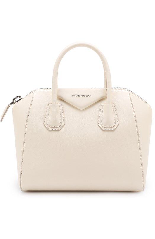 Купить Сумка Antigona small Givenchy, BB05117012, Италия, Белый, Кожа натуральная: 100%;