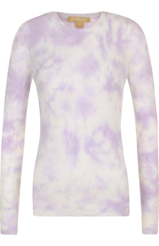 Пуловер из смеси вискозы и льна Michael Kors Collection