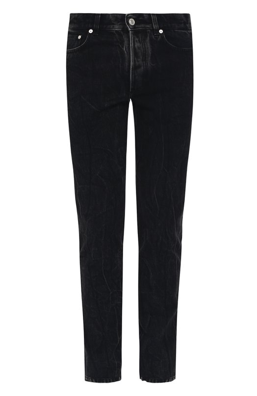 Купить Джинсы прямого кроя Givenchy, BM503T5038, Италия, Черный, Хлопок: 100%;