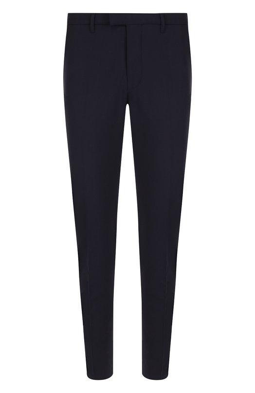 Купить Шерстяные брюки прямого кроя Drykorn, TYLD/113000, Румыния, Синий, Подкладка-полиэстер: 65%; Полиэстер: 52%; Эластан: 5%; Шерсть: 43%; Подкладка-хлопок: 35%;