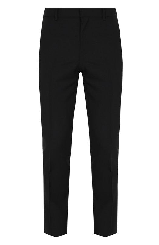 Купить Шерстяные брюки прямого кроя Givenchy, BM5034108W, Италия, Черный, Шерсть: 75%; Подкладка-ацетат: 60%; Подкладка-купра: 40%; Мохер: 25%;