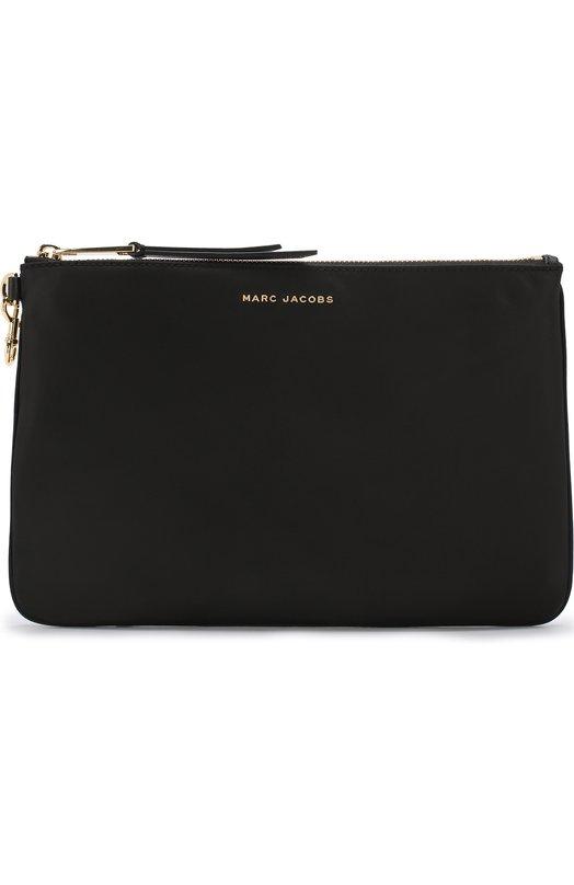 Купить Текстильная косметичка на молнии с логотипом бренда Marc Jacobs, M0013614, Китай, Черный, Текстиль: 100%;