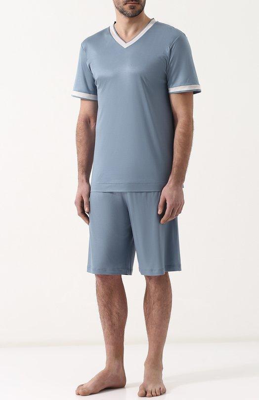 Пижама с шортами и футболкой Zimmerli