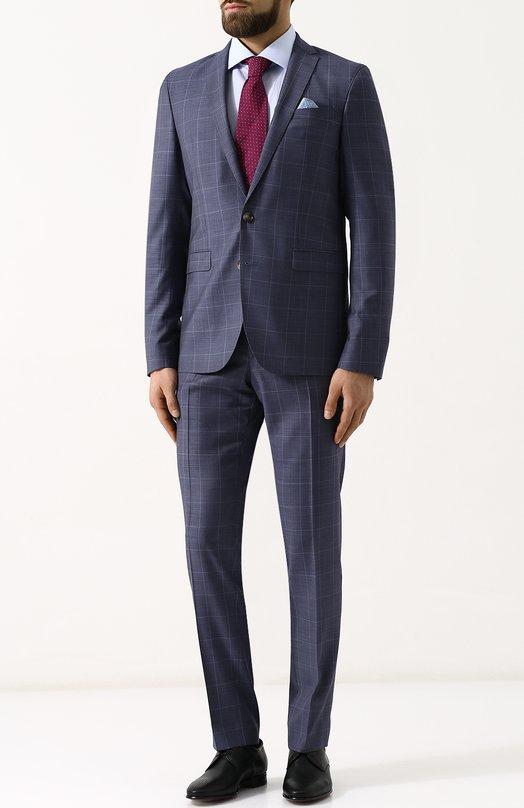Купить Шерстяной костюм с пиджаком на двух пуговицах Sand, 1565/STAR-CRAIG, Португалия, Голубой, Подкладка-вискоза: 50%; Подкладка-ацетат: 50%; Шерсть: 100%;