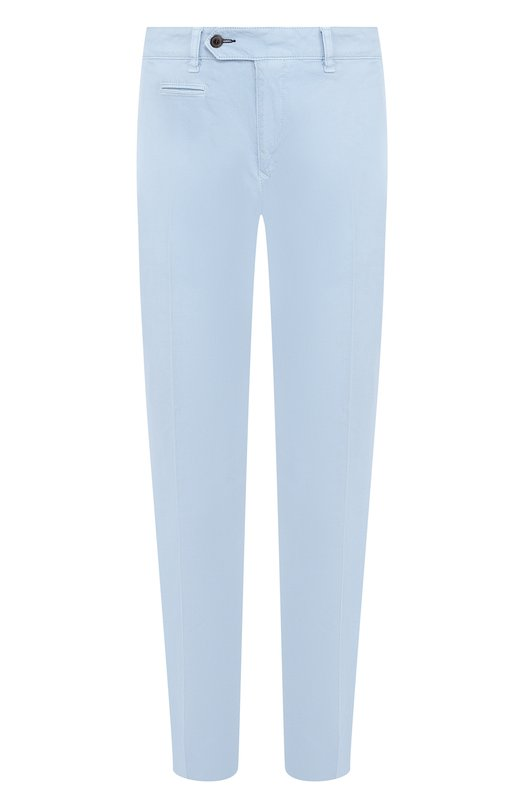 Купить Хлопковые брюки прямого кроя Bogner, 18253154, Румыния, Голубой, Хлопок: 100%;