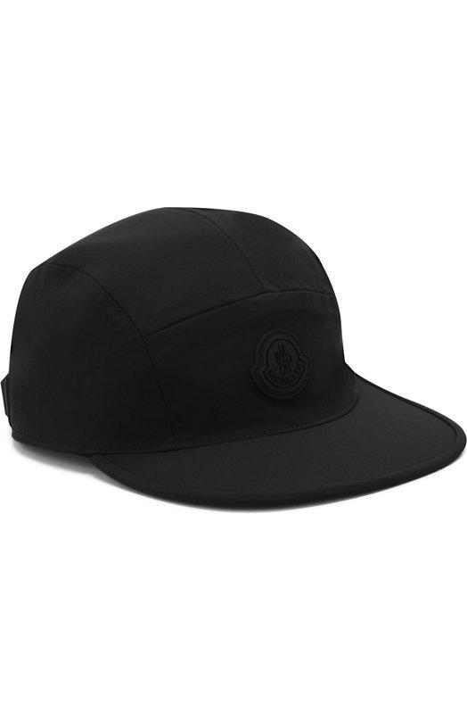 Купить Бейсболка с логотипом бренда Moncler, D1-091-00949-00-5399F, Италия, Черный, Эластан: 9%; Полиамид: 52%; Полиэстер: 39%;
