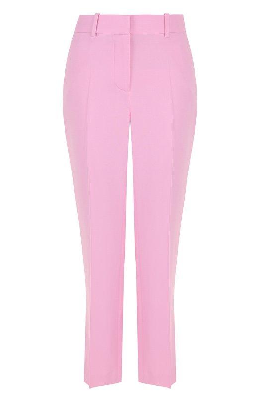 Купить Укороченные расклешенные брюки со стрелками Givenchy, BW501V103C, Италия, Розовый, Вискоза: 95%; Эластан: 5%;