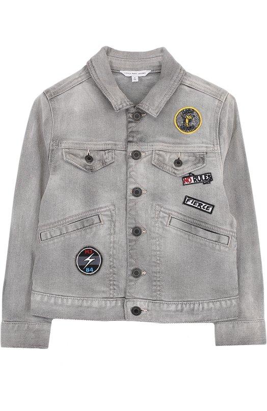 Джинсовая куртка с нашивками Marc Jacobs