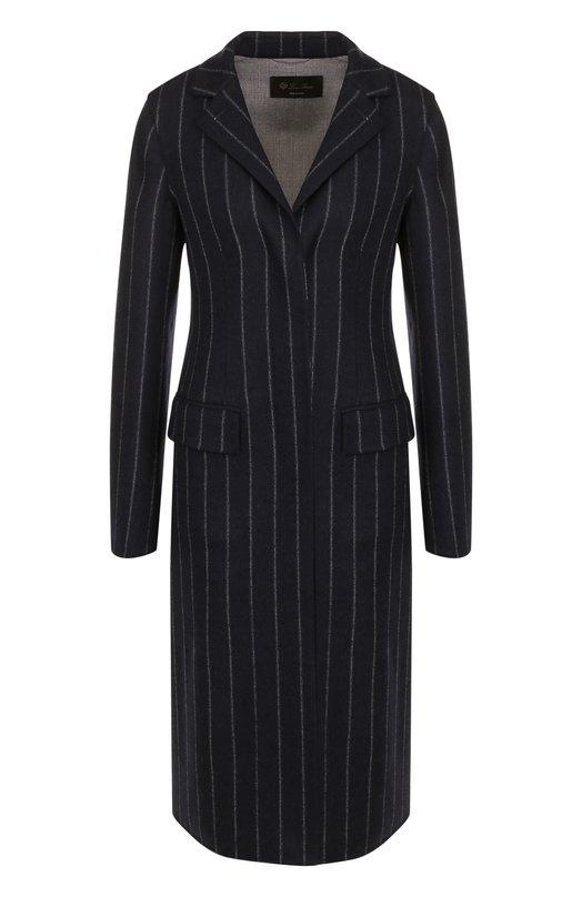 Приталенное шерстяное пальто из эластичной шерсти Loro Piana Loro Piana