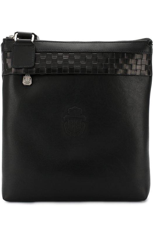 Купить Кожаная сумка-планшет Billionaire, I18A MBA0430 BLE042N, Италия, Черный, Кожа натуральная: 100%;