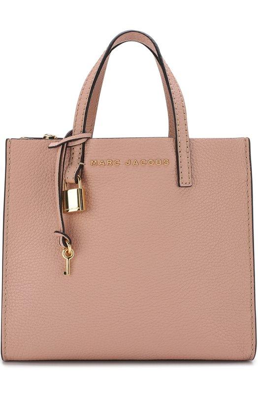 Купить Сумка-тоут The Grind Marc Jacobs, M0013268, Китай, Розовый, Кожа натуральная: 100%;