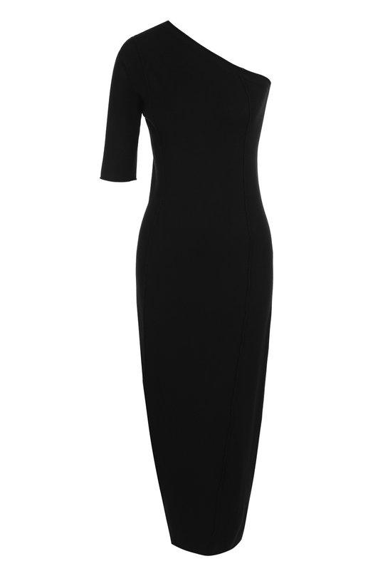Однотонное платье-футляр из вискозы Isabel Benenato