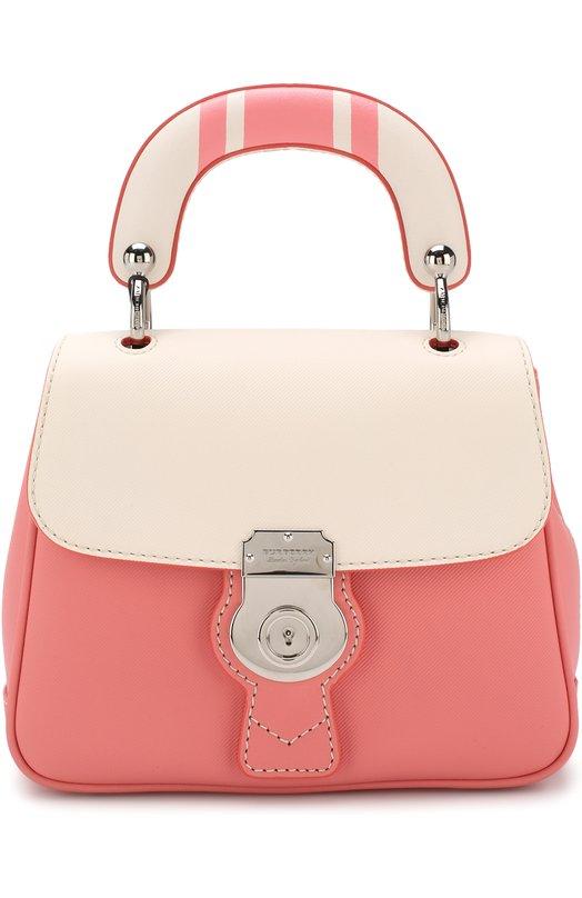 Купить Сумка DK88 Burberry, 4063752, Италия, Розовый, Кожа натуральная: 100%;