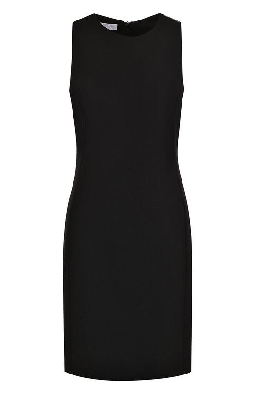 Купить Приталенное мини-платье без рукавов Escada Sport, 5025120, Румыния, Черный, Вискоза: 67%; Эластан: 5%; Полиамид: 28%; Кристаллы Сваровски: 100%;