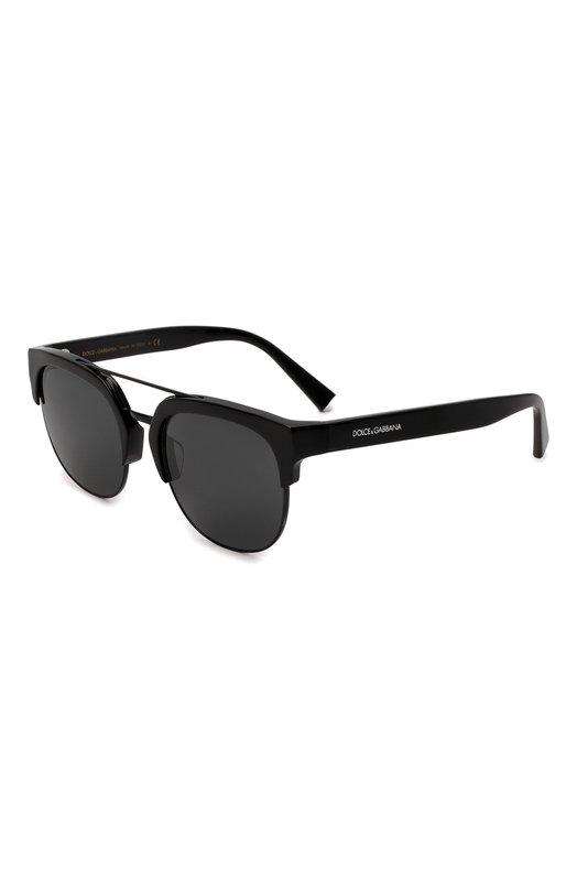 Купить Солнцезащитные очки Dolce & Gabbana, 4317F-501/87, Италия, Черный