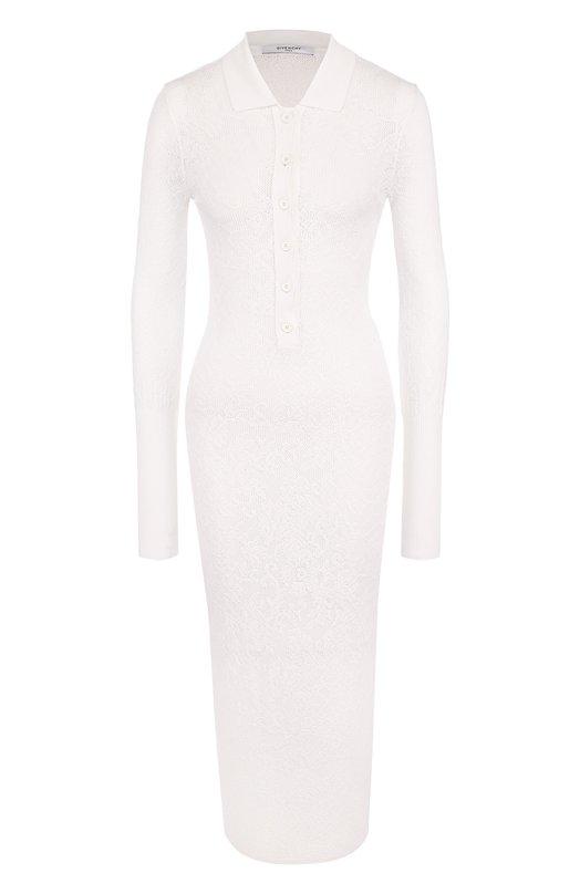Приталенное вязаное платье Givenchy