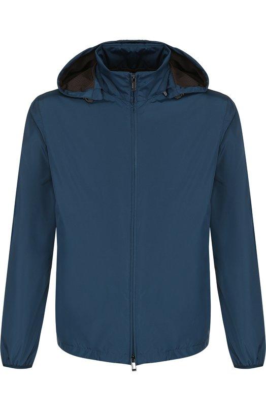 Купить Куртка на молнии с капюшоном Z Zegna, VP018/ZZ020, Китай, Бирюзовый, Полиэстер: 100%; Подкладка-полиэстер: 100%;