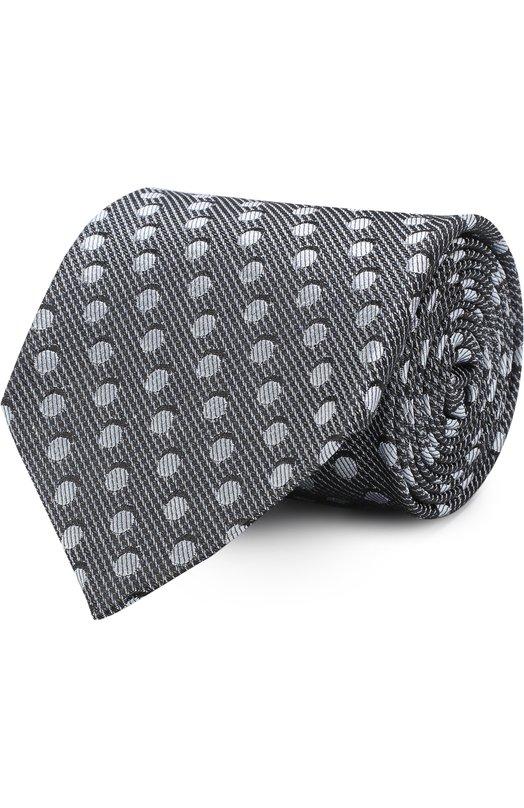 Купить Шелковый галстук Tom Ford, 3TF48/XTF, Италия, Светло-голубой, Шелк: 100%;