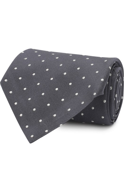Купить Шелковый галстук Tom Ford, 3TF43/XTF, Италия, Серый, Шелк: 100%;