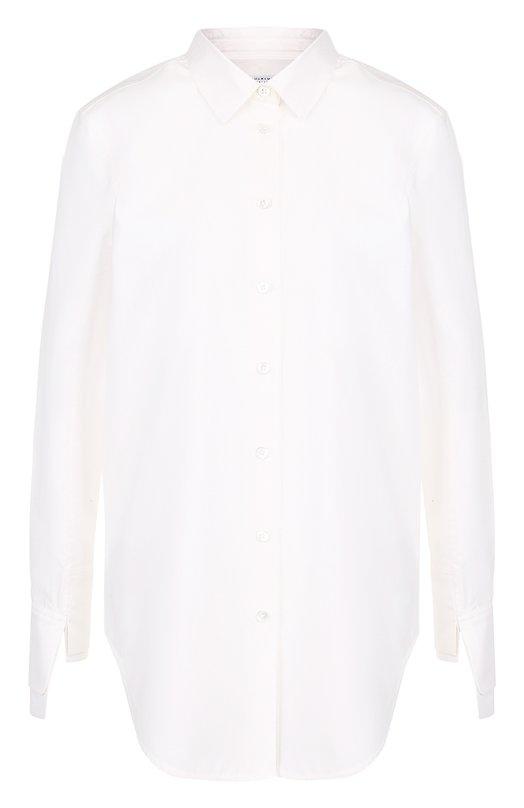 Купить Однотонная хлопковая блуза свободного кроя Equipment, 18-1-Q2000-TP0147, Китай, Белый, Хлопок: 100%;
