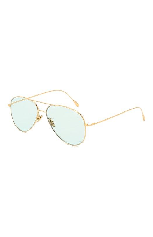 Купить Солнцезащитные очки CutlerandGross, 1266GPL/DPLBL, Италия, Золотой