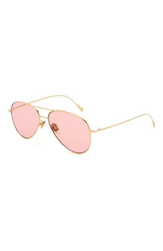Купить Солнцезащитные очки CutlerandGross, 1266GPL/DPPI, Италия, Золотой