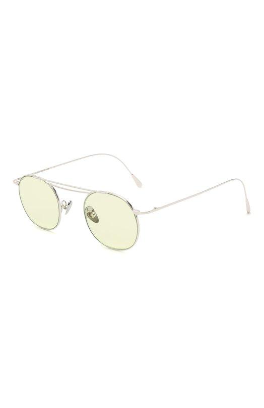 Купить Солнцезащитные очки CutlerandGross, 1268PPL/DPGN, Италия, Светло-зеленый