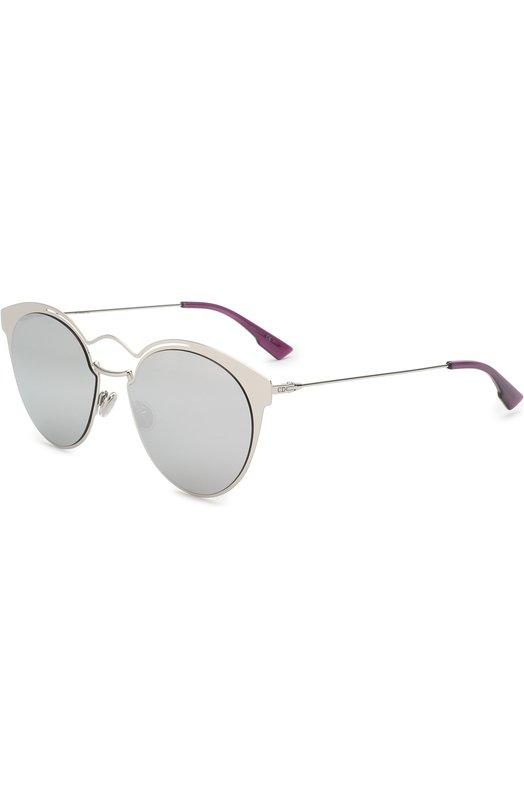 Купить Солнцезащитные очки Dior, DI0RNEBULA 010, Италия, Серебряный