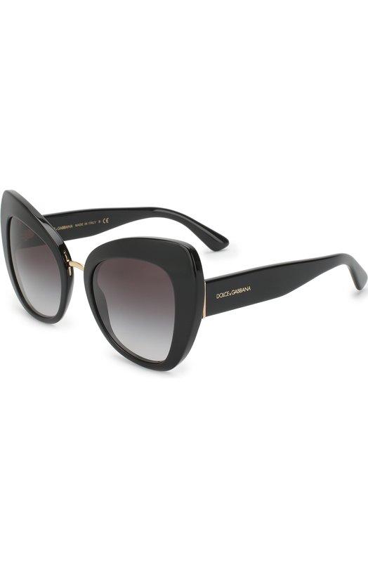 Купить Солнцезащитные очки Dolce & Gabbana, 4319-501/8G, Италия, Черный
