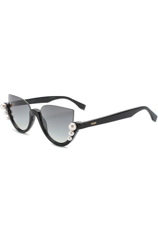 Купить Солнцезащитные очки Fendi, 0297 807, Италия, Черный