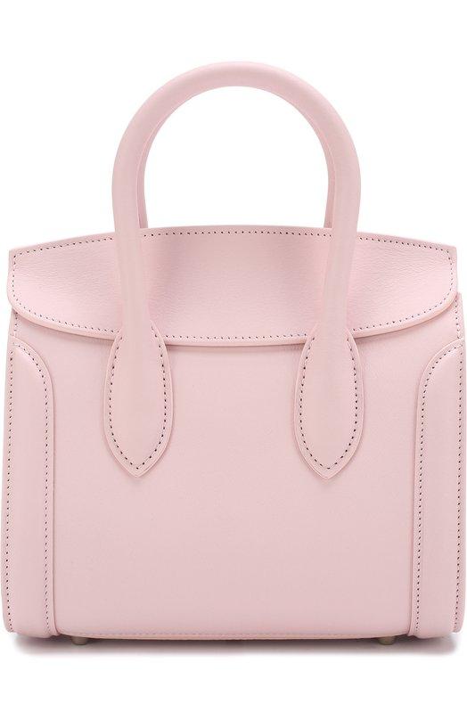 Купить Сумка Heroine 25 Alexander McQueen, 509334/0J11Y, Италия, Светло-розовый, Кожа натуральная: 100%;