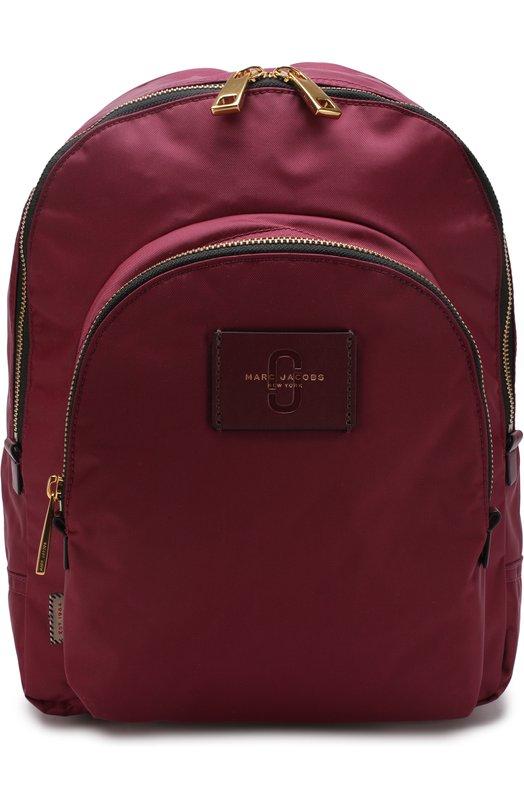Купить Рюкзак Double Pack Marc Jacobs, M0013605, Китай, Бордовый, Текстиль: 100%;