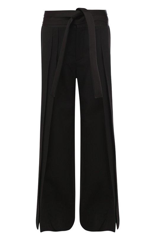 Шерстяные брюки свободного кроя Saint Laurent