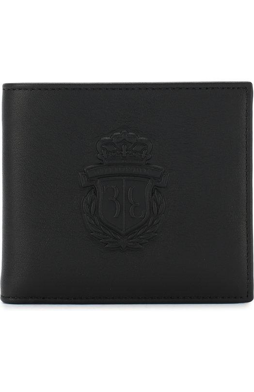 Купить Кожаное портмоне с отделениями для кредитных крат Billionaire, B18A MVG0084 BLE042N, Италия, Черный, Кожа: 100%;