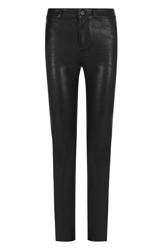 Купить Укороченные кожаные брюки Paige, 3360A13-1086, США, Черный, Кожа натуральная: 100%;